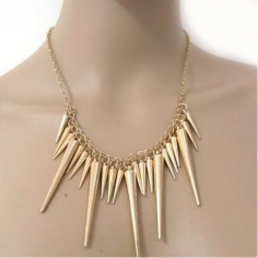 Spikes Necklace - halsband...