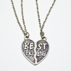 Best Friend halsband 2 st...