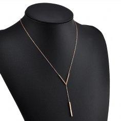 Golden Necklace - Triangel