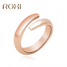 SIMPLE Fin guld ring -...