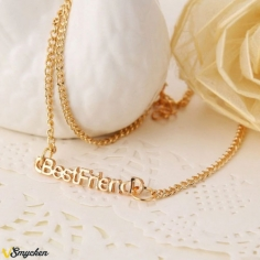 best friend text halsband...
