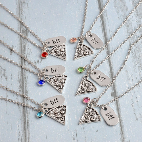 Best Friends Halsband 6 Color Inlaid...