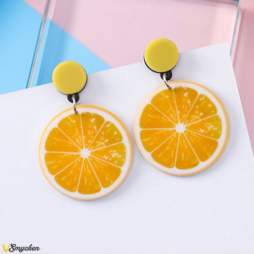 Trendiga Acrylic Orange Fruit Big...