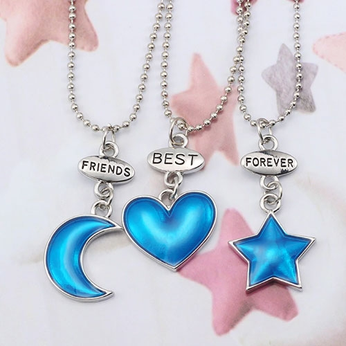 Best Friends forever halsband 3 st...