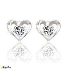 Enkla silver hjärta...