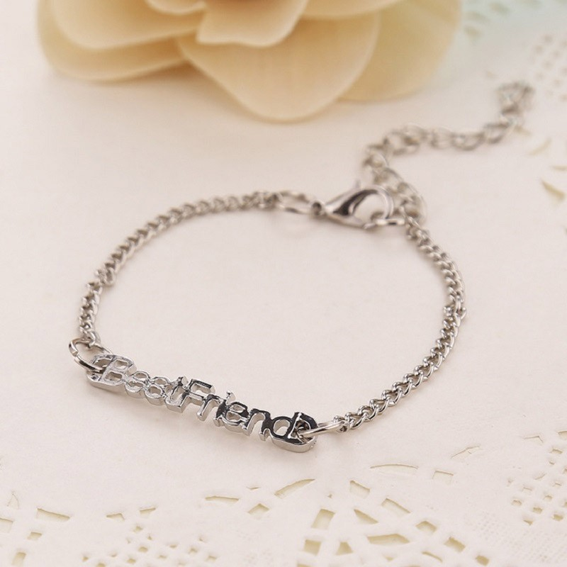 "Armband ""Best Friend"" i silver"
