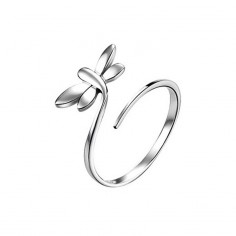Silver Dragonflies ring 925 sterling silver Fjäril ring