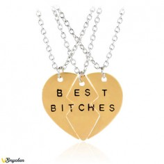 Best Bitches - Halsband med...